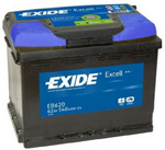 EXIDE EXCELL - 62 п.п.