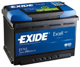 EXIDE EXCELL - 74 п.п.